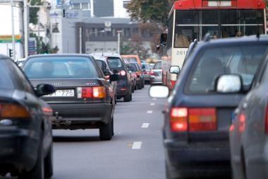 Draudžiamas eismas nuo Oslo iki Miškinių gatvės