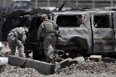 Iš JAV bepiločio lėktuvo Pakistane nukauti keturi kovotojai