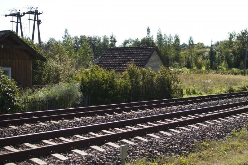 Tauragės rajone traukinys suvažinėjo ant bėgių gulėjusį vyrą