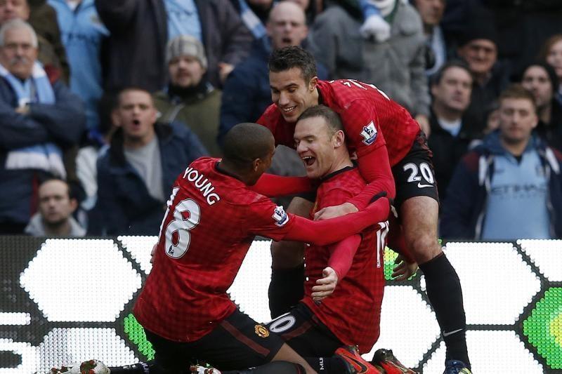 "Mančesterio derbyje - dramatiška ""Manchester United"" pergalė"