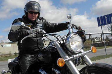Šilutėje vyko motociklininkų paradas