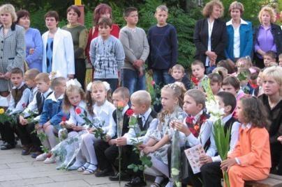 Kviečia pirmaklasius į šventę