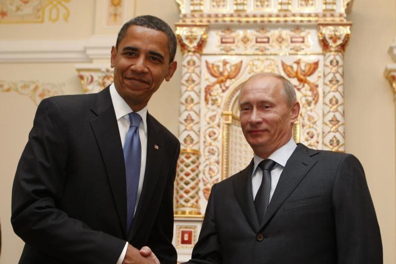 V.Putinas atmetė B.Obamos kvietimą atvykti į Baltuosius rūmus
