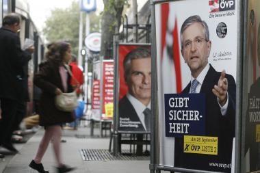 Austrai anksčiau laiko renka parlamentą