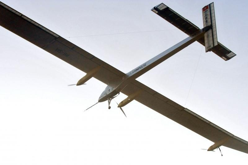 Saulės energija varomas lėktuvas pradėjo paskutinį skrydžio etapą