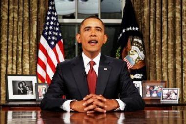 JAV prezidentas B.Obama paskelbė kovinės misijos Irake pabaigą