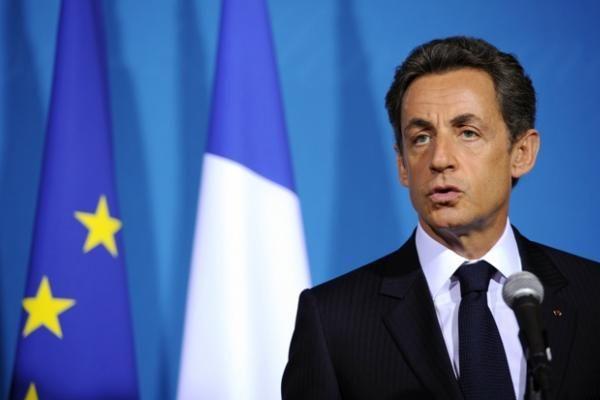 Prancūzijos prezidentas Sarkozy pasmerkė