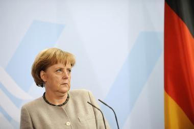 Vokietijos kanclerės vizitas į Vilnių planuojamas rugsėjį