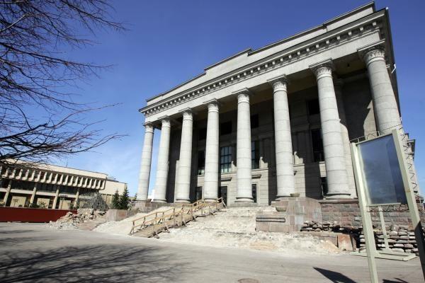 """Skulptūra """"Žinia"""" sostinės centre iškils be ekspertų pritarimo"""