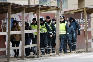 Pareigūnai vėl protestuos Vilniuje