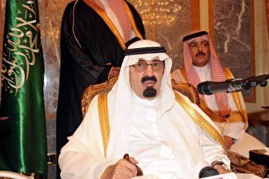Saudo Arabijos karalius ragino JAV pulti Iraną ir