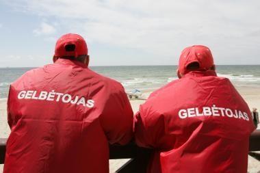 Klaipėdos gelbėtojai pradėjo darbą