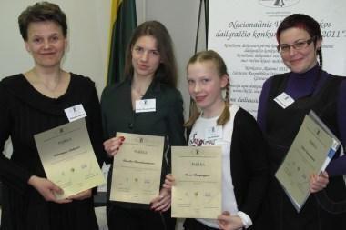 Tarp dailiausiai rašančių Lietuvoje – gimnazistė iš Klaipėdos