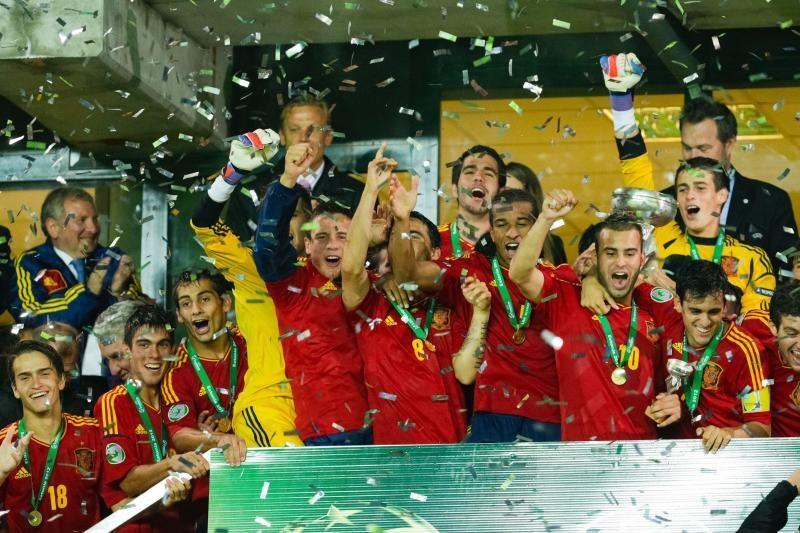 Europos jaunimo čempionais taip pat tapo ispanai