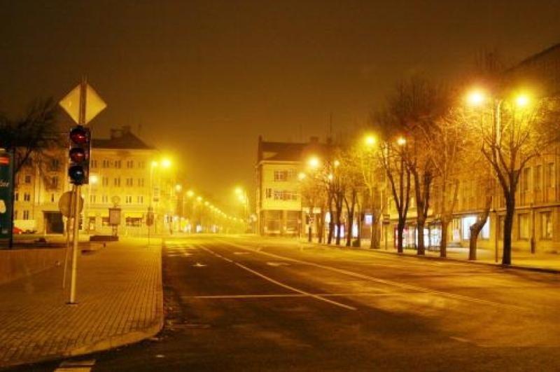 Uostamiesčio gatvėms - blausesnė šviesa