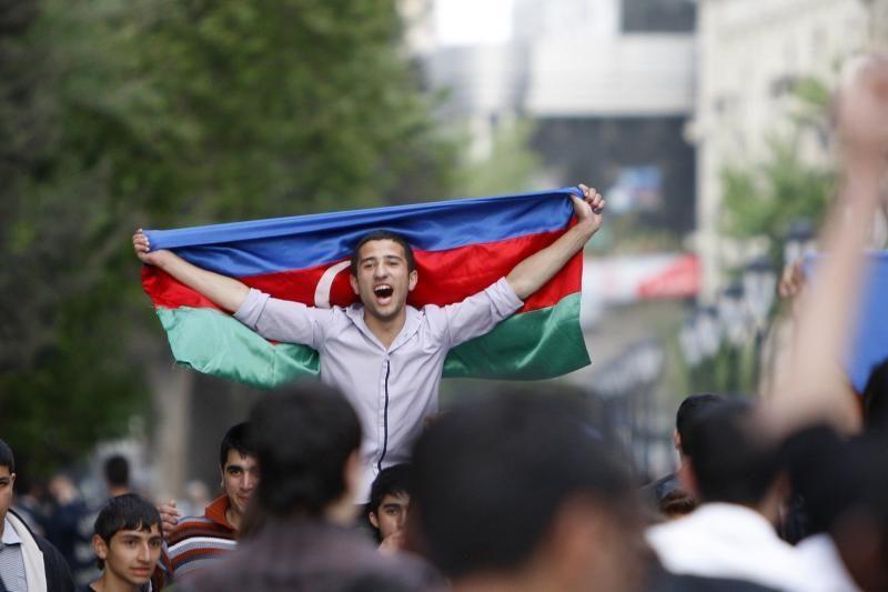 Azerbaidžane Eurovizijos festivalio išvakarėse suimta 30 žmonių