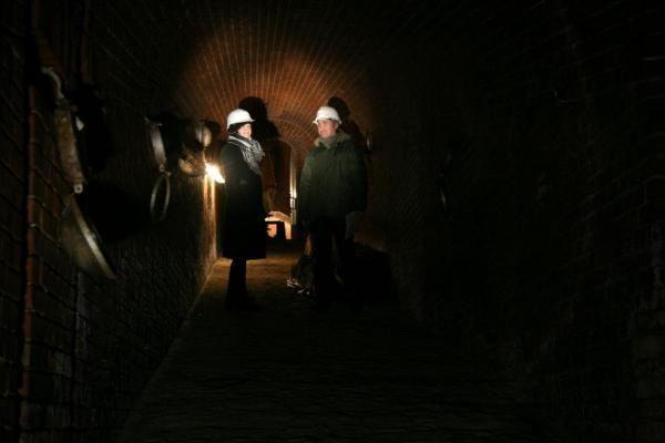 Rekonstruojant delfinariumą rastas tunelis po Kuršių mariomis (balandžio 1-oji)