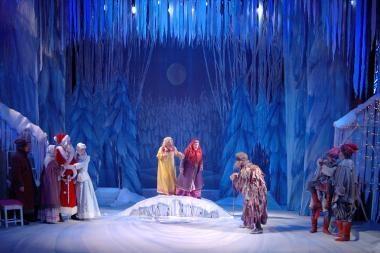 Per Kalėdas  pasirodys ir Sniego karalienė
