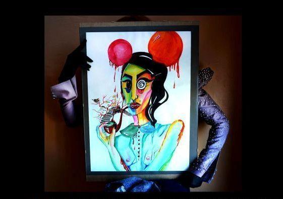 Uostamiesčio jaunimo kultūros namuose – futuristinė mada ir akvarelės