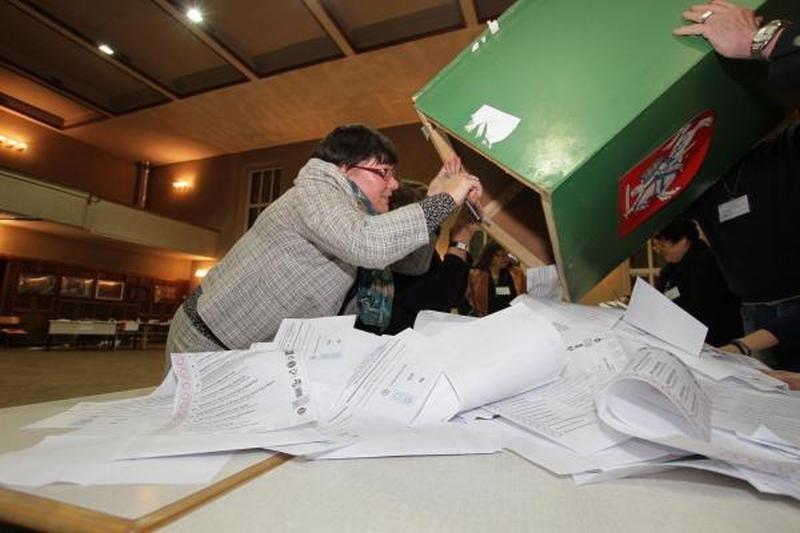 Pirmieji rezultatai Klaipėdos apygardose: pirmauja Darbo partija