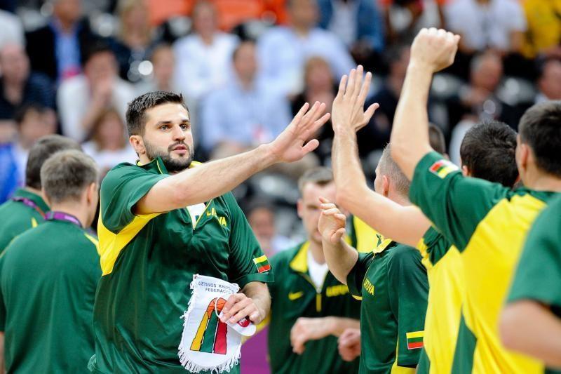 FIBA klasifikacijoje Lietuvos krepšinio rinktinei - penktoji vieta