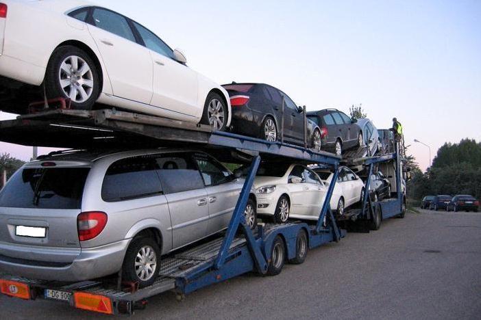 Pasienyje sulaikyti trys Olandijoje vogti automobiliai