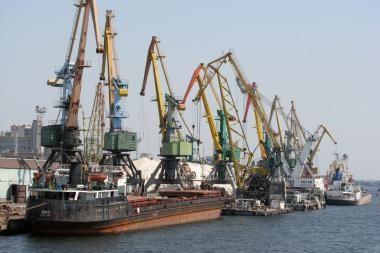 Ukrainos Chersono uostas siekia bendradarbiauti su Klaipėda