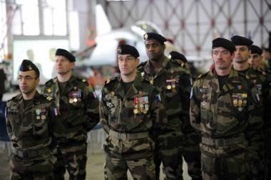 Baltijos oro erdvėje pradėjo patruliuoti prancūzai