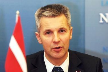 Latvijos gynybos ministras: Rusija netapo agresyvesnė, o