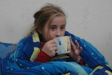 Peršalusių daugėja, tačiau gripo atvejai - pavieniai
