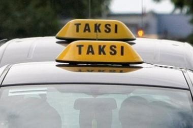 Šiauliuose apiplėštas taksistas