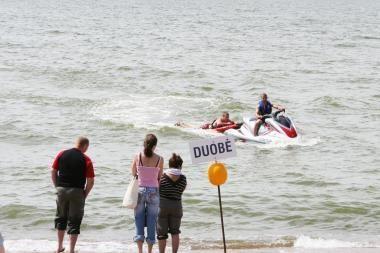 Plūduras jūroje išgelbėjo gyvybę