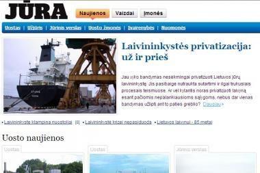 Atidaromas naujas interneto tinklalapis apie jūros naujienas