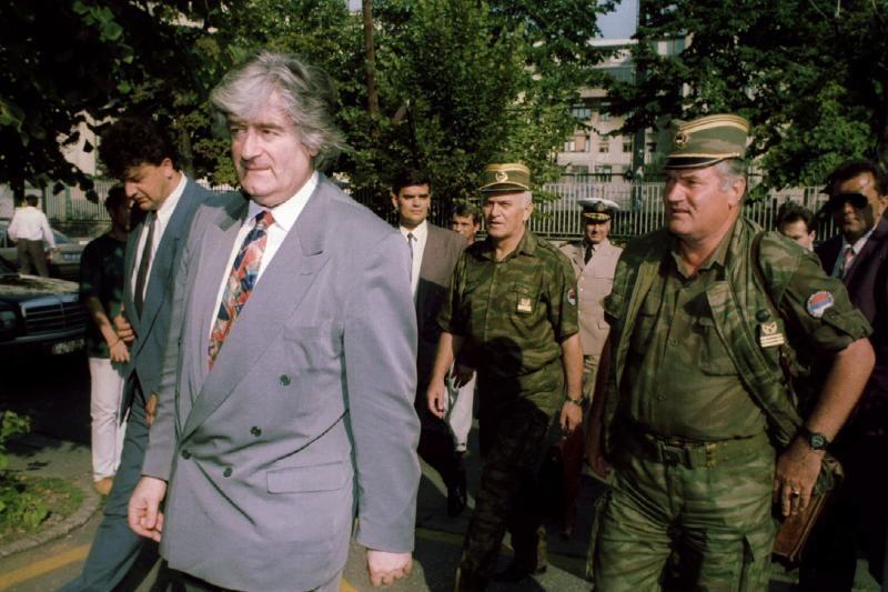 JT teismas panaikino R.Karadžičiui vieną iš kaltinimų genocidu