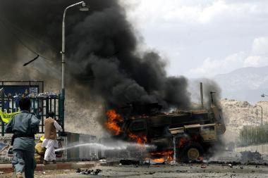 Afganistane žuvo penki NATO kariai