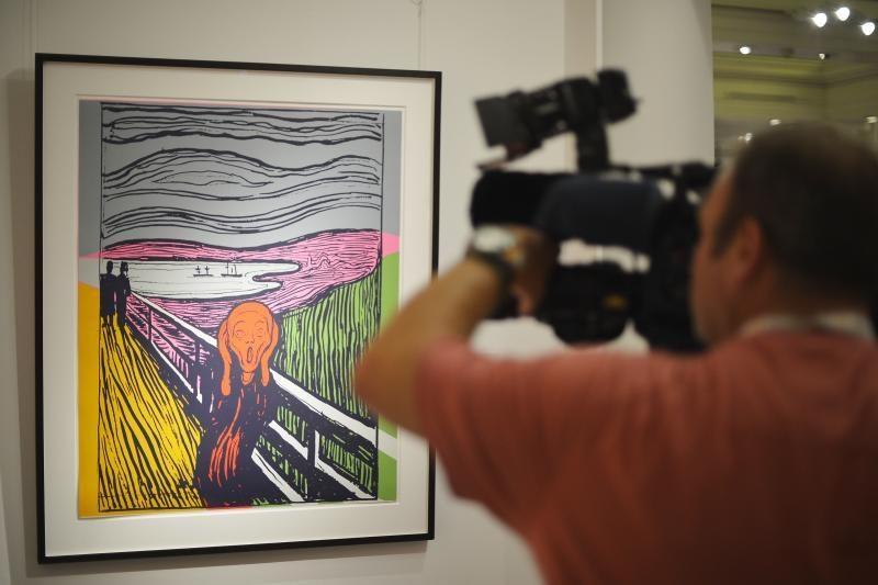 E. Muncho paveikslas bus eksponuojamas Niujorke