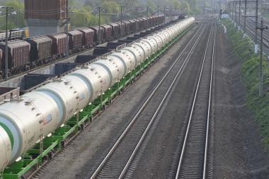 Geležinkelio liniją modernizuoti skatina didėjantys krovinių srautai
