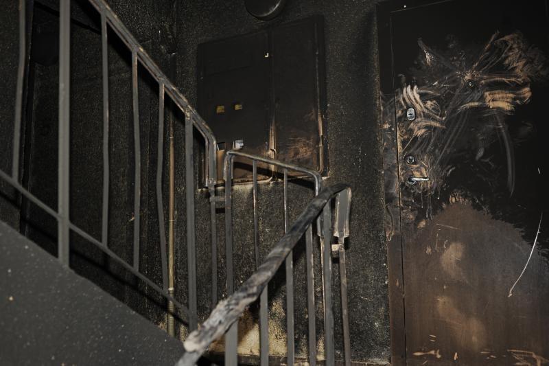 Dėl gaisro Ukmergėje buvo evakuoti 25 žmonės