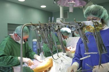 Oro transporto sutrikimai atsiliepia ir medikų darbui