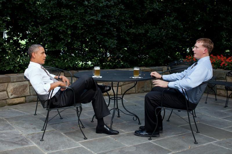 """Baltieji rūmai atskleidė savo daromo """"alaus Šefui"""" receptą"""
