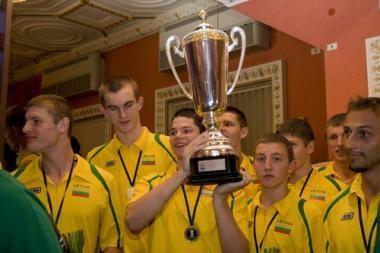 Sugrįžo jaunieji čempionai (nuotr.)