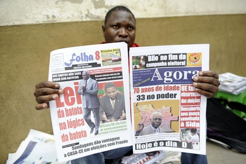 Angolos valstybinė žiniasklaida prezidentu paskelbė Dos Santosą