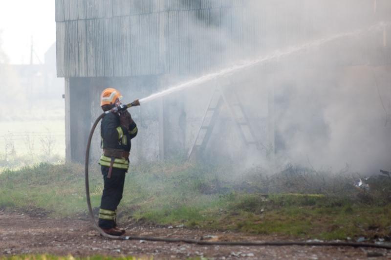 Alytaus rajone gaisravietėje rastas lavonas (papildyta)