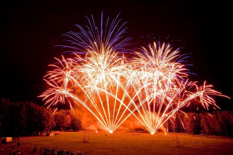 Sostinės Vingio parke – fejerverkų festivalis