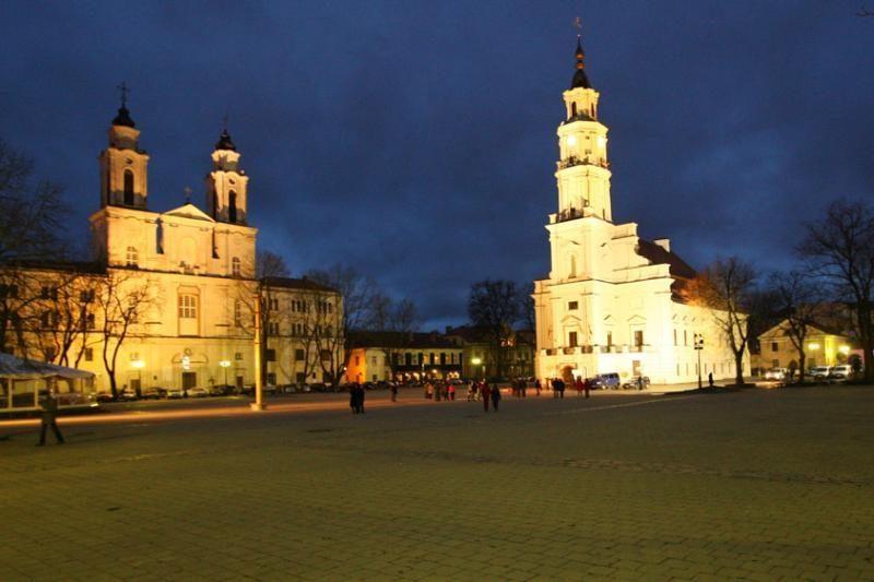 Siūloma riboti eismą aplink Kauno Rotušę
