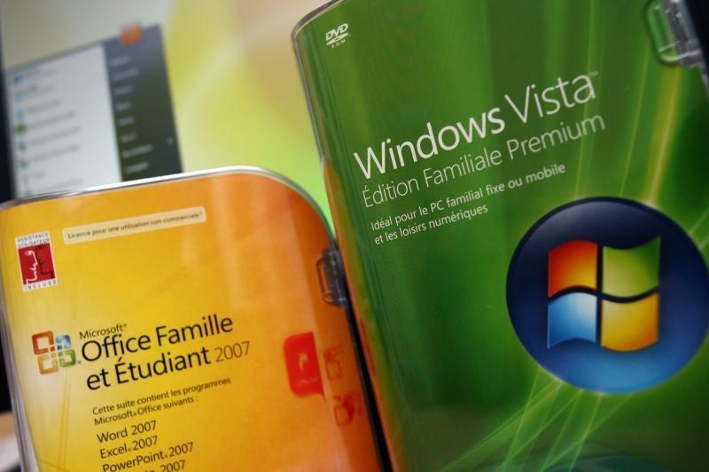 """""""Microsoft"""" pritaria Rusijos kovos su piratavimu internete metodui"""