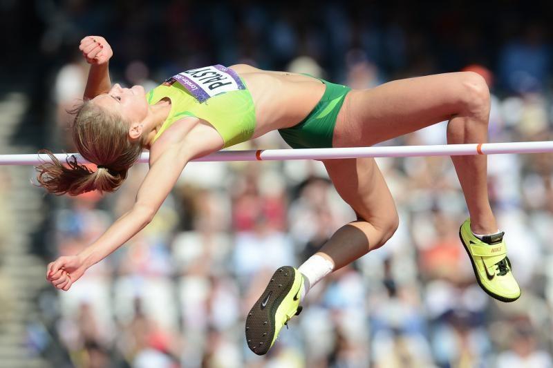 Šuolininkė į aukštį A. Palšytė – planetos lengvosios atletikos čempionato finale