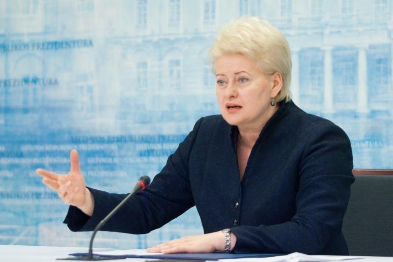 D.Grybauskaitė: geri santykiai su Lenkija yra abiejų šalių siekis