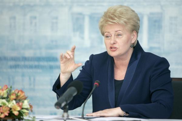 Prezidentė: siekiant energetinio saugumo būtinos jungtys su Lenkija