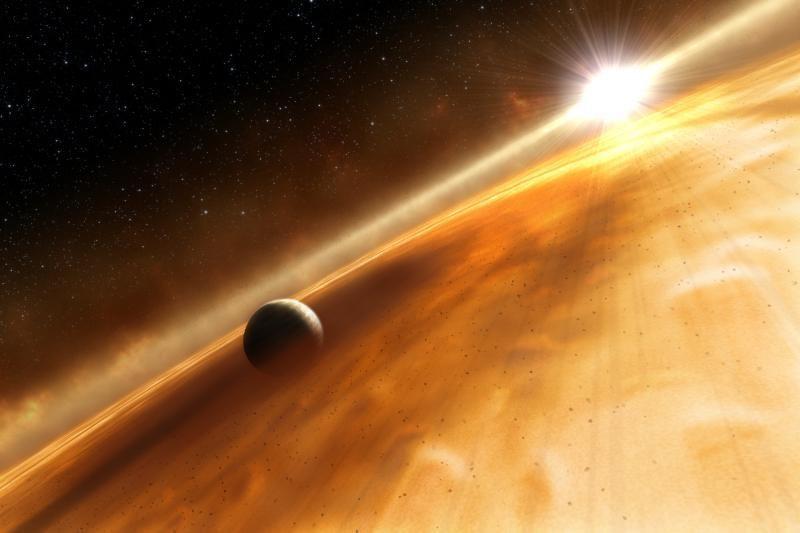 """""""Hubble"""" atrado už 25 šviesmečių skriejančią planetą-vaiduoklę"""